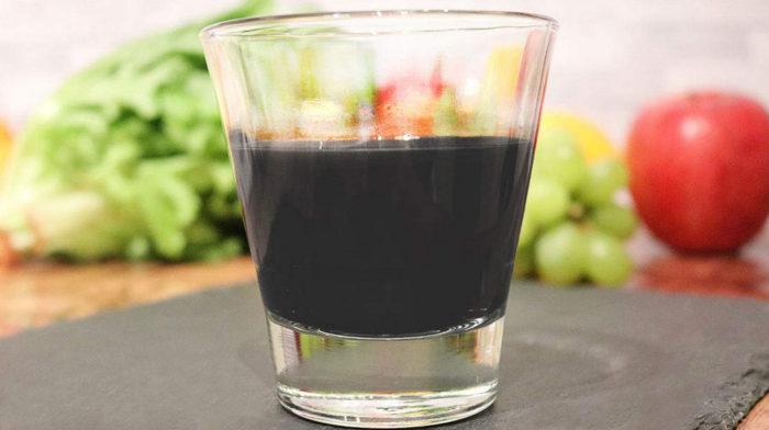 デトカルボは黒汁