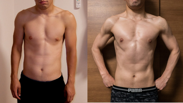 2ヶ月のダイエット成果