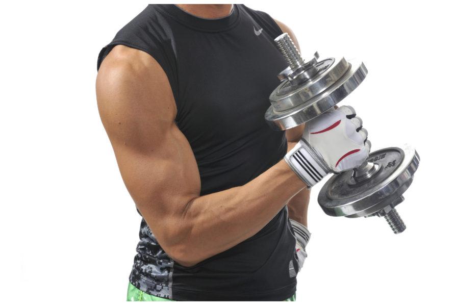 腕の筋トレ