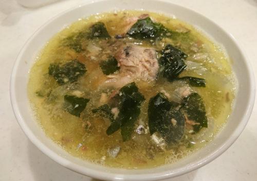 サバ缶スープ
