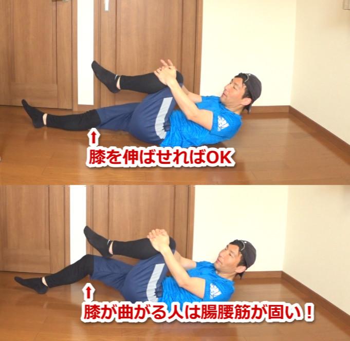 腸腰筋の固さチェック