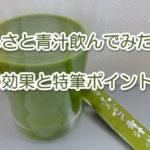 ふるさと青汁ダイエットが効果的?【星5】飲んでみた口コミ評価
