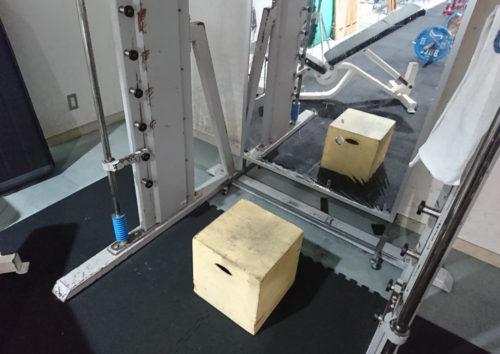 懸垂用の踏み台