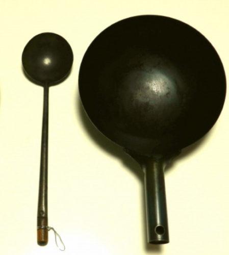 中華鍋と中華お玉