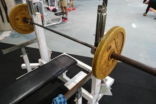 50kgベンチプレス