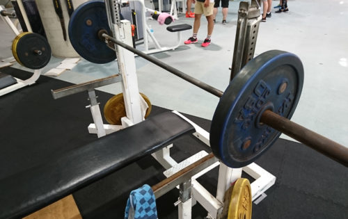 60kgベンチプレス