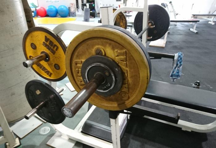 ベンチプレス102.5kg