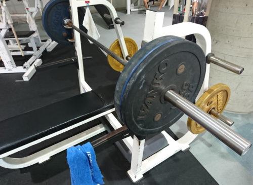 ベンチプレス80kg