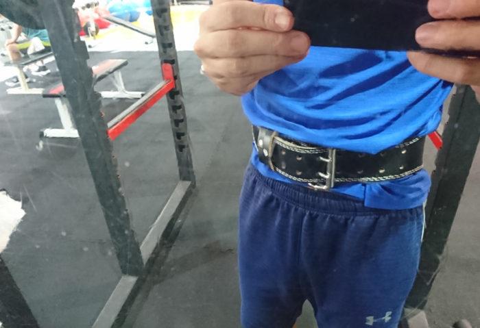 トレーニングベルト