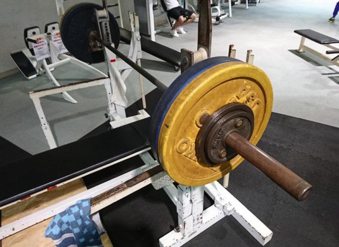 ベンチプレス105kg