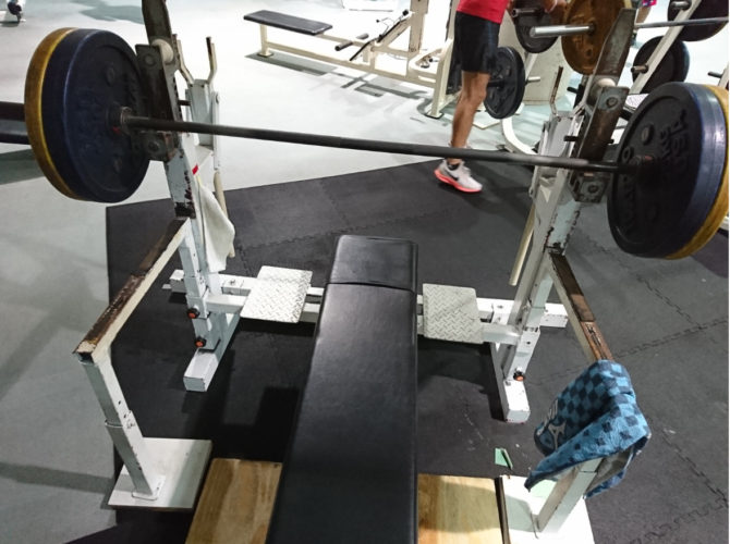 ベンチプレスの重量