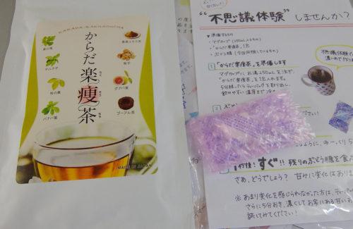 からだ楽痩茶のギムネマ実験セット
