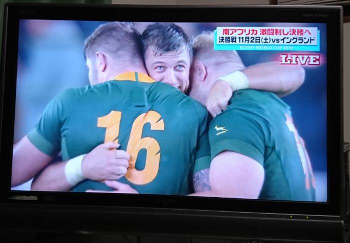 白熱の守り合い!ラグビー南アフリカ対ウェールズ戦の感想