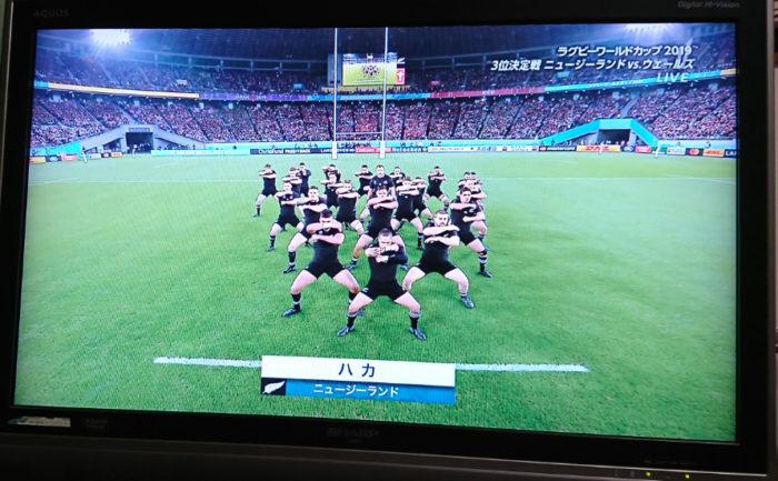 オールブラックス強し!ラグビーニュージーランド対ウェールズ戦の感想