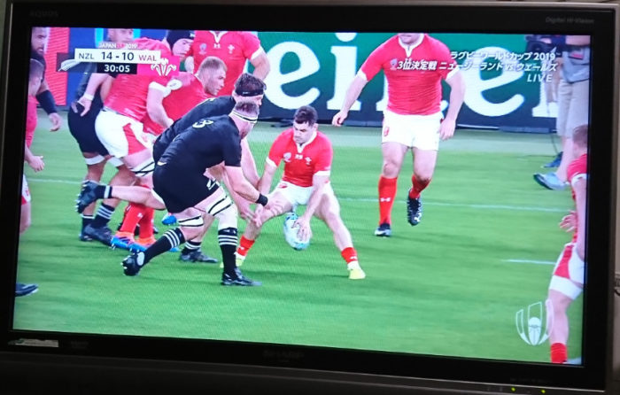 ニュージーランド対ウェールズ