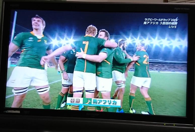 やっぱり南ア強すぎ!ラグビー南アフリカ対イングランド戦の感想