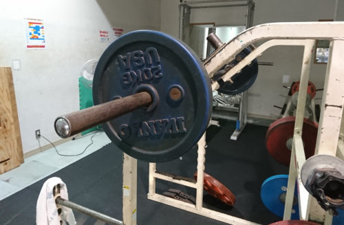 オーバーヘッドプレス60kg