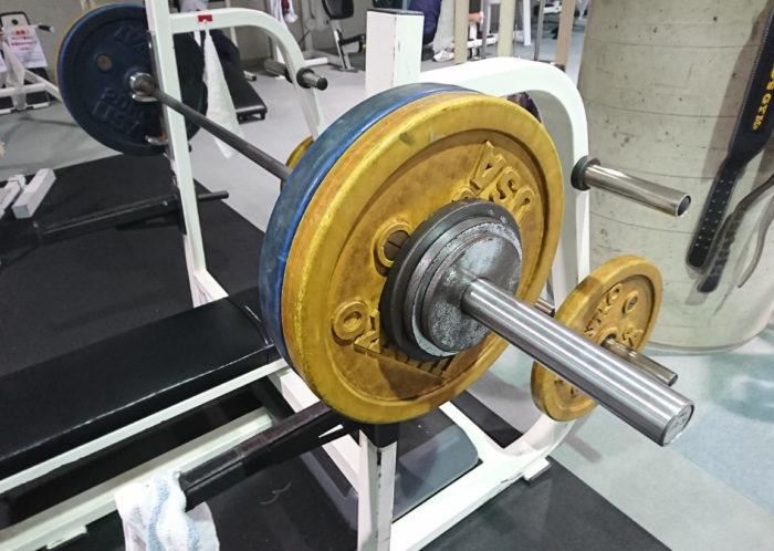 ベンチプレス107.5kg