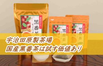 国産黒番茶を評価【星4】油もの好きのダイエット