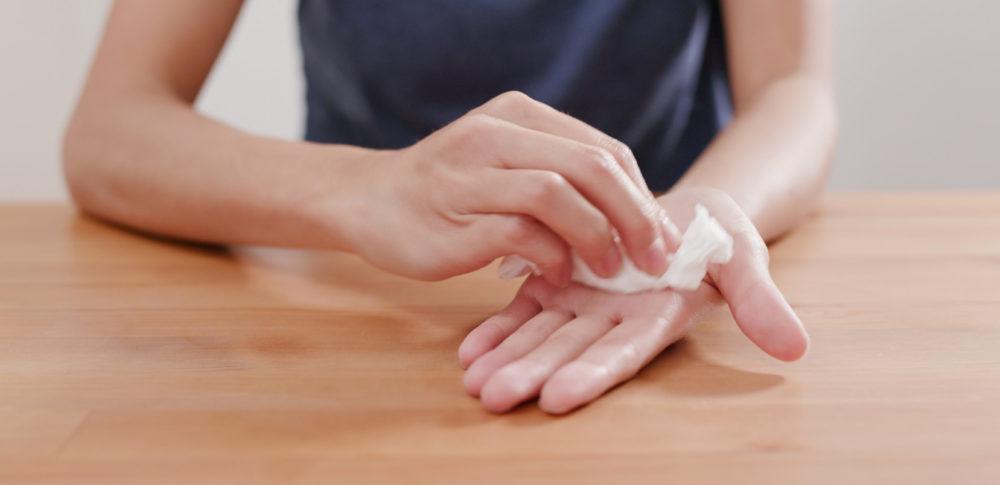 手汗が多い人