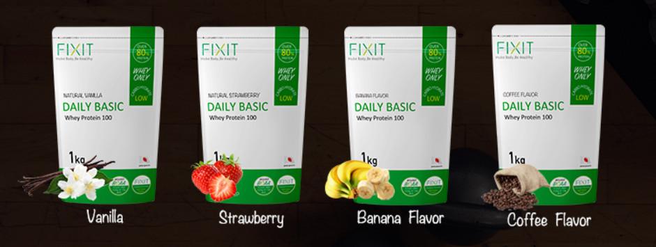FIXITの味の種類