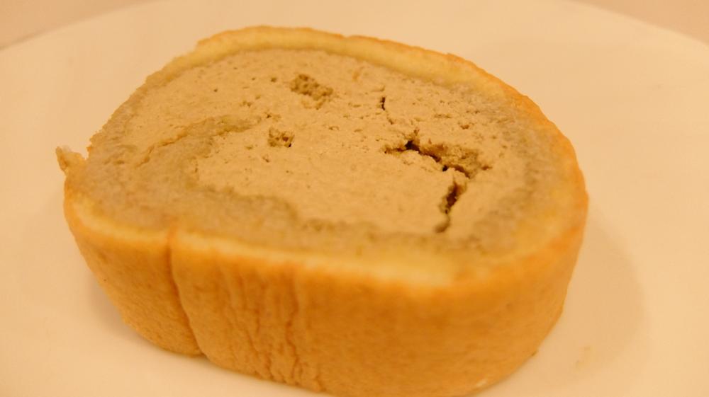 ご褒美のロールケーキ