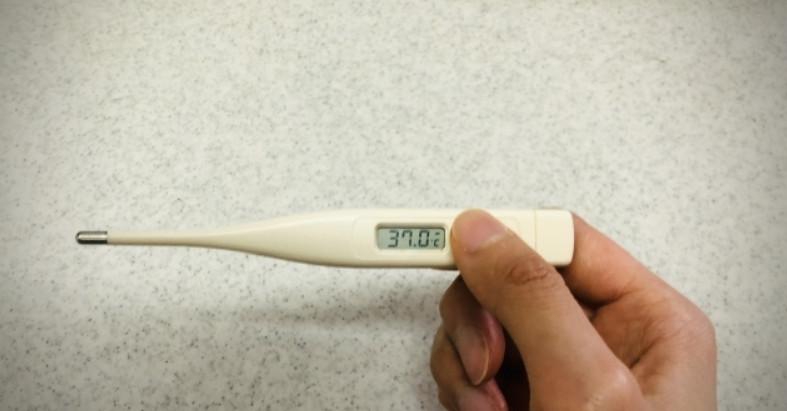 微熱の体温計