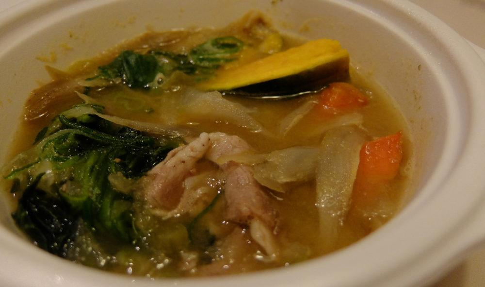 ベジ活スープ食はボリュームたっぷり