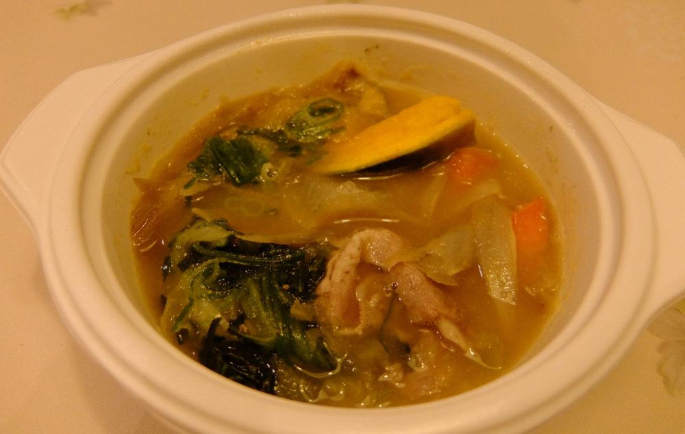 ベジ活スープ食豚汁
