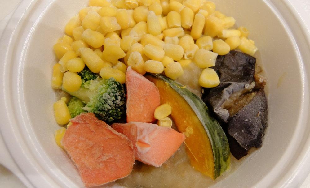 冷凍のミックス野菜
