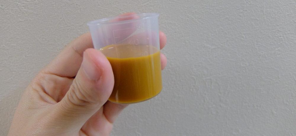 豊潤サジーのジュース