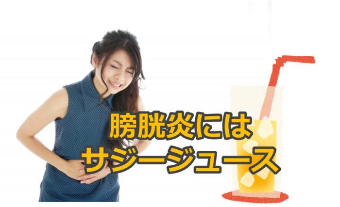 豊潤サジージュースで膀胱炎が治った口コミを集めて検証しました