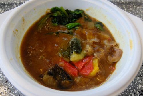 ベジ活スープ食のカレー