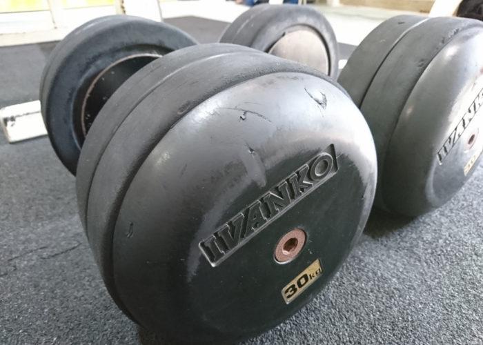 30kgのダンベル