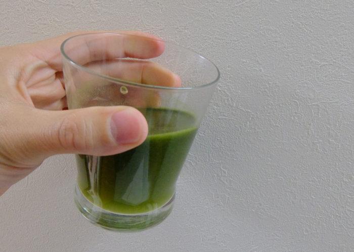 難消化性デキストリン青汁
