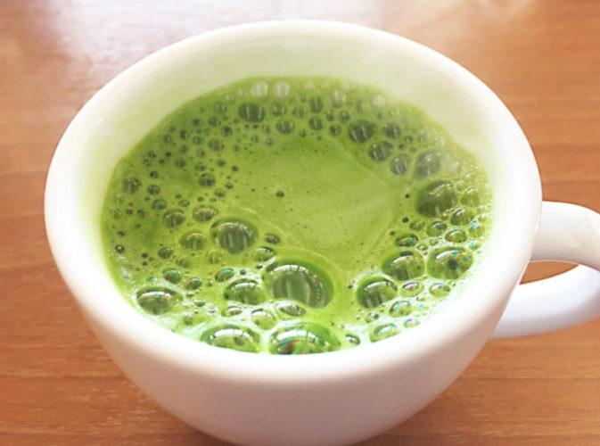 カフェイン入抹茶青汁