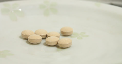 前田の菊芋の錠剤