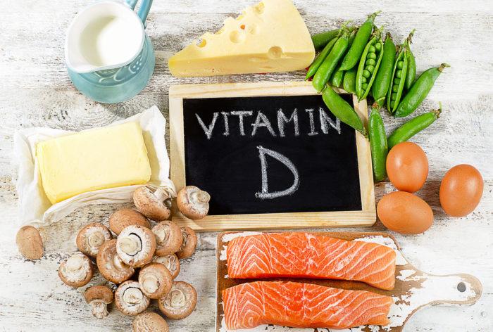 ビタミンDを摂れる食材