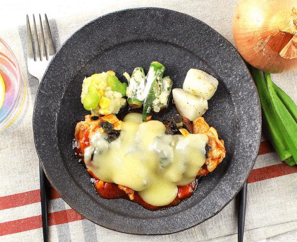 バッファローのチーズ