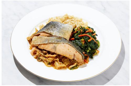鮭キムチセット